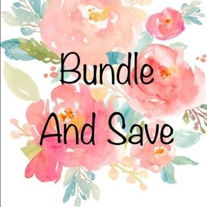 Bundle and save 😋